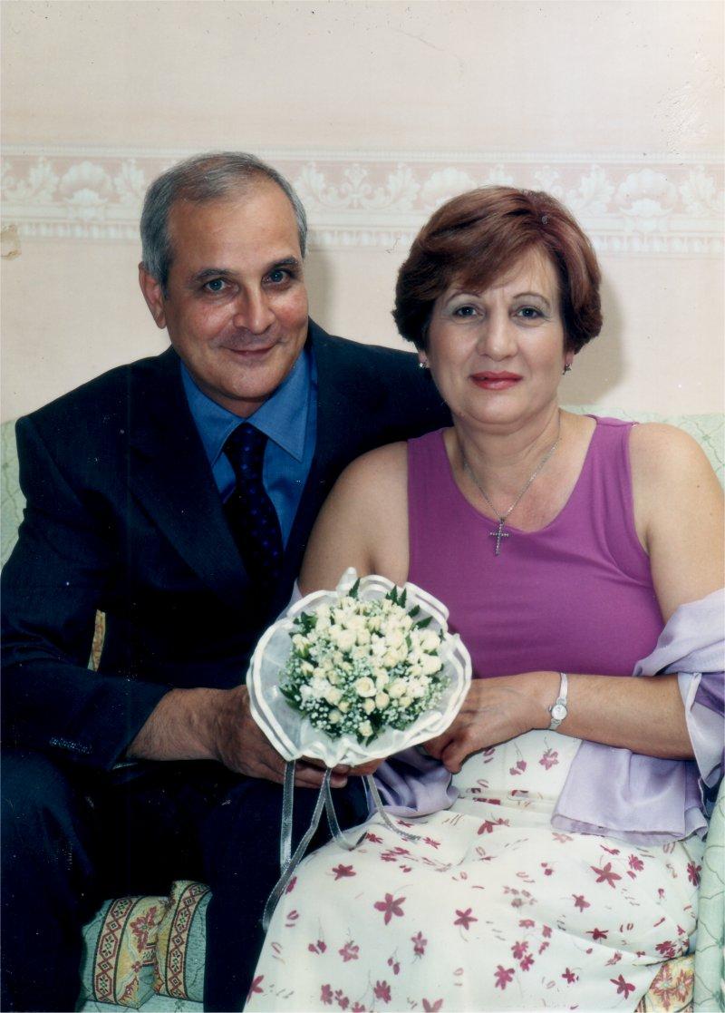 franco e carolina 41 anni di matrimonio 26 luglio 2016