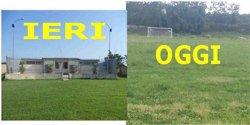 campo sportivo ieri e oggi