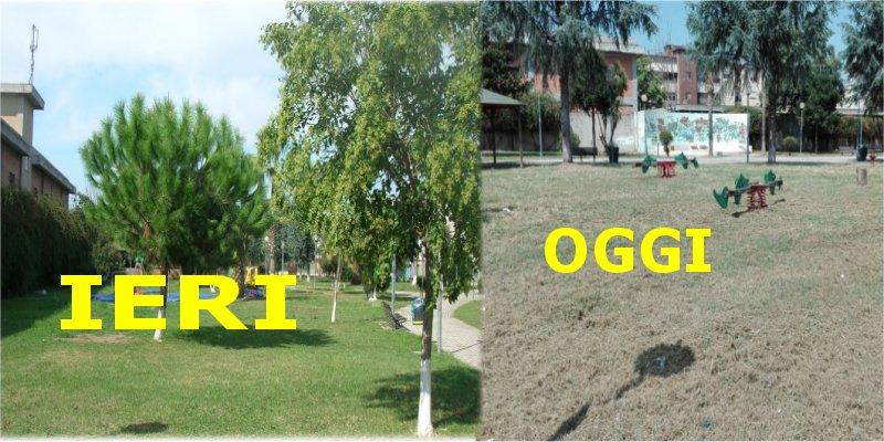 villa comunale ieri e oggi